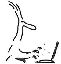 Portátil Escrever