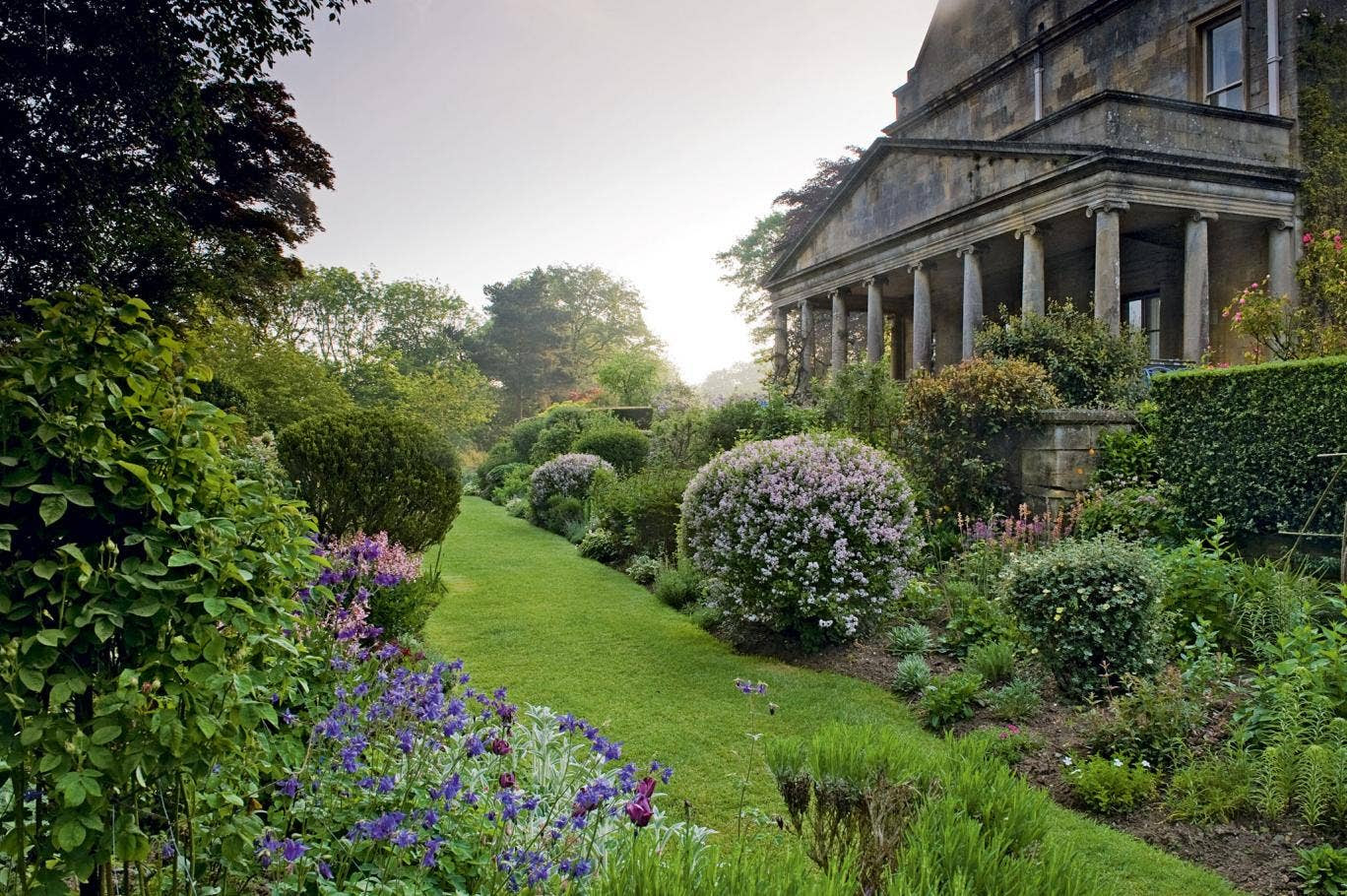 Kiftsgate Court Gardens in Chipping Campden has been created since 1920 and over three generations by Heather Muir, Diany Binny and Anne Chambers. It is open to the public, April to September