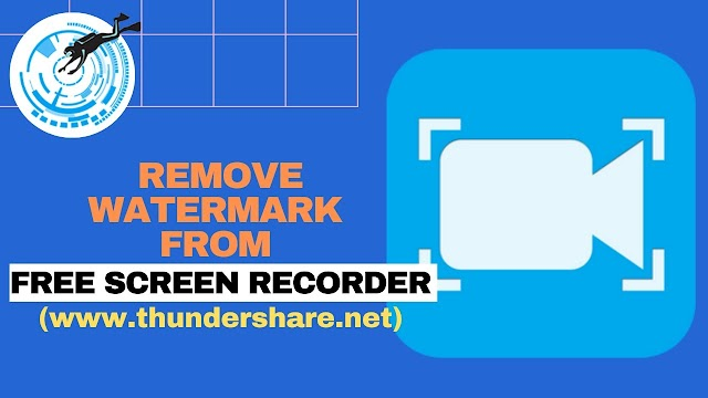 How To Remove Watermark From Free Screen Recorder