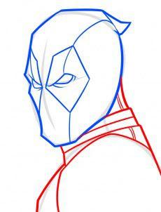 Tutorial De Dibujo Deadpool Paso A Paso Para Niños