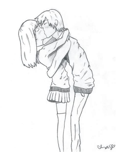 anime kiss  kawaiimaii  deviantart