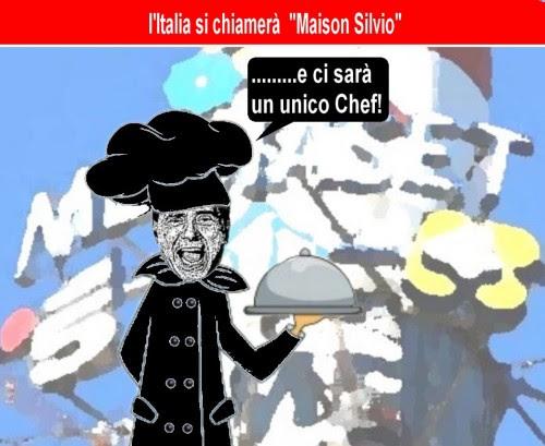 satira,attualità,politica,governo,semipresidenzialismo alla francese,berlusconi,pdl,