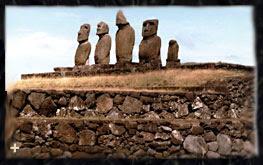 Τα περίφημα αγάλματα του νησιού του Πάσχα