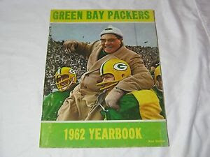 1962 VINTAGE GREEN BAY PACKERS FOOTBALL NFL YEARBOOK VINCE LOMBARDI T*  eBay