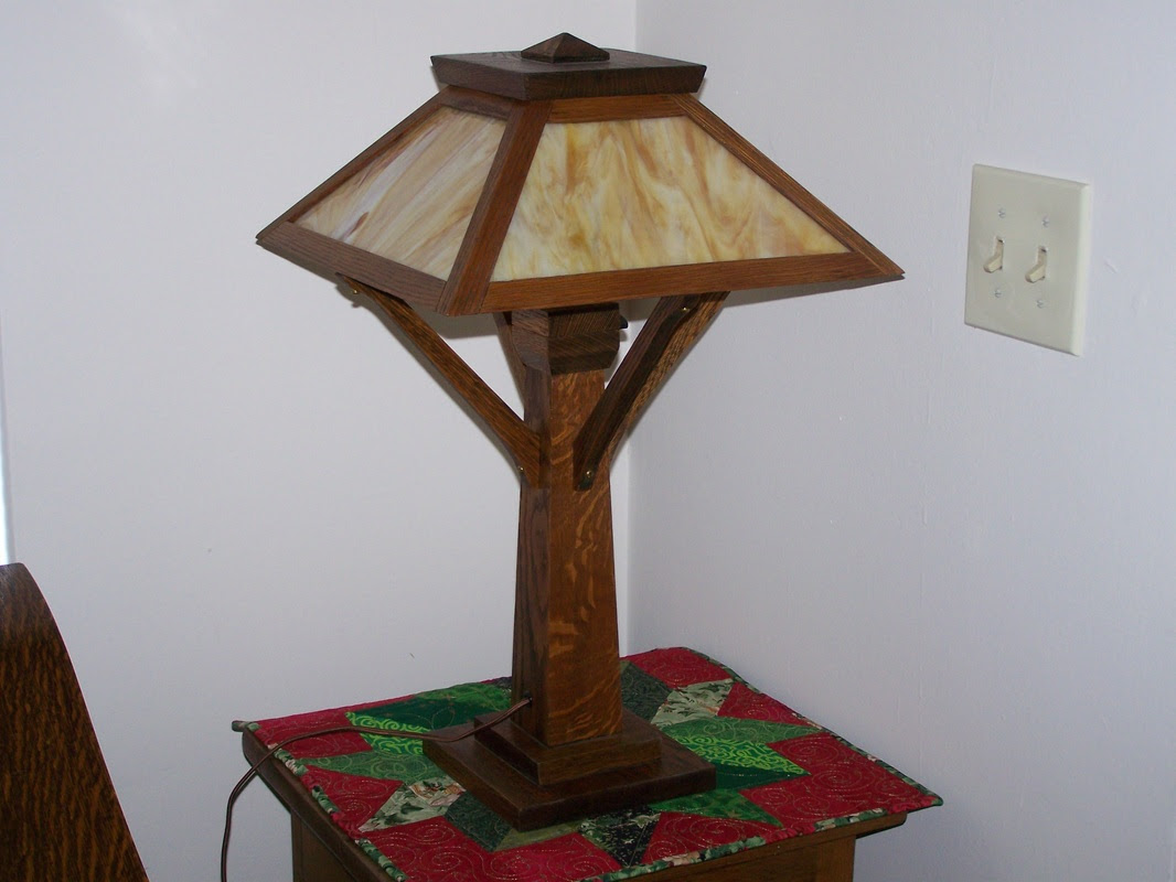 Table Lamps Arts And Crafts Table Lamps Plans
