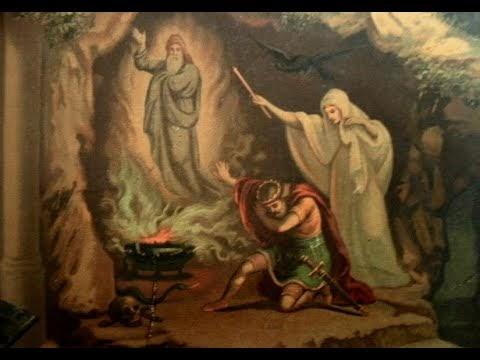 A bruxa de endor a feiticeira necromante da biblia?