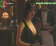 Amanda Godoi sensual na novela Tempo Amar