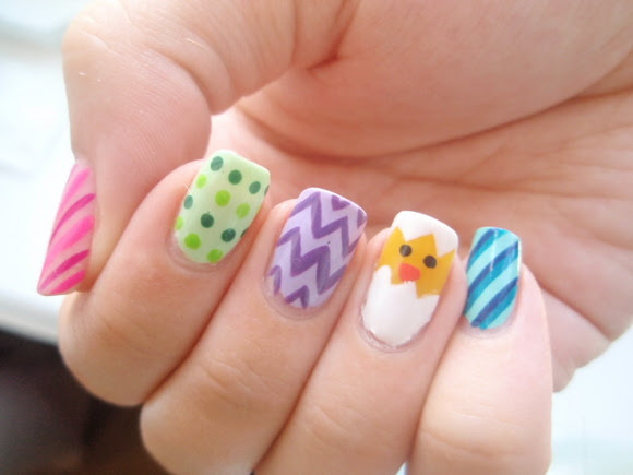 Easter Nail Design Ideas Nailartdesignsideafo Via Nail Art
