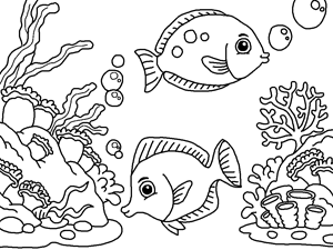 Deep Sea Coloring Pages at GetColorings.com | Free ...
