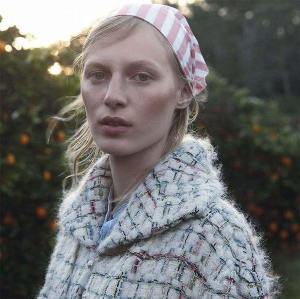 Julia Nobis by Stephen Ward for Vogue Australia October 2013 11
