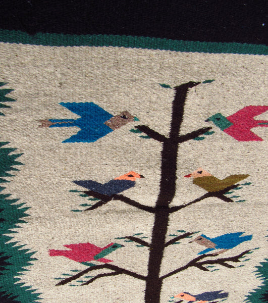 Southwest Mexican Rug 30 X 60 Tree Of Life Design Tlr001 Camino
