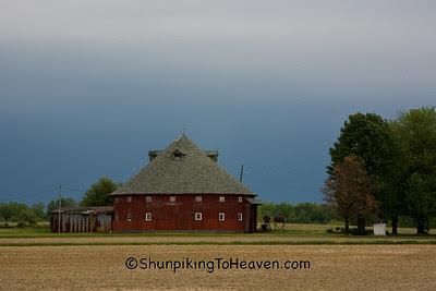 Round Barn, Vigo County, Indiana