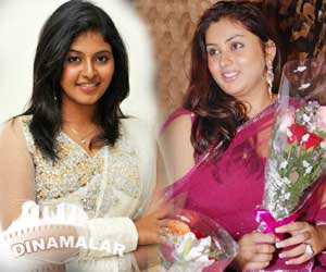Actress Namitha, Anjali`s new plan