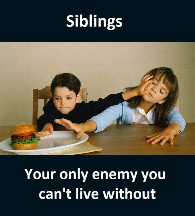 Siblings Funny Pictures Quotes Memes Funny Images Funny Jokes