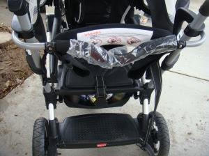 Car seat holder