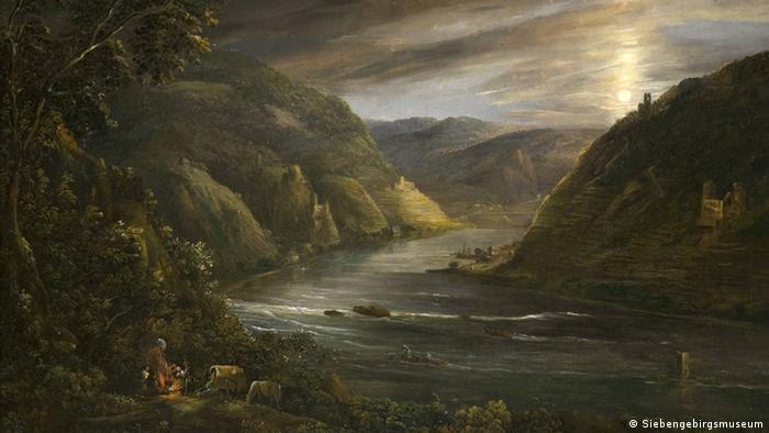 Georg Schneider's 'Ruins of Ehrenfels by Moonlight,' 1790