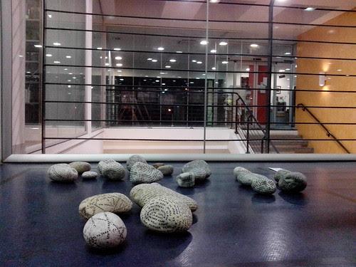 "L'eco delle pietre ""Homus Art 2012"" by Ylbert Durishti"