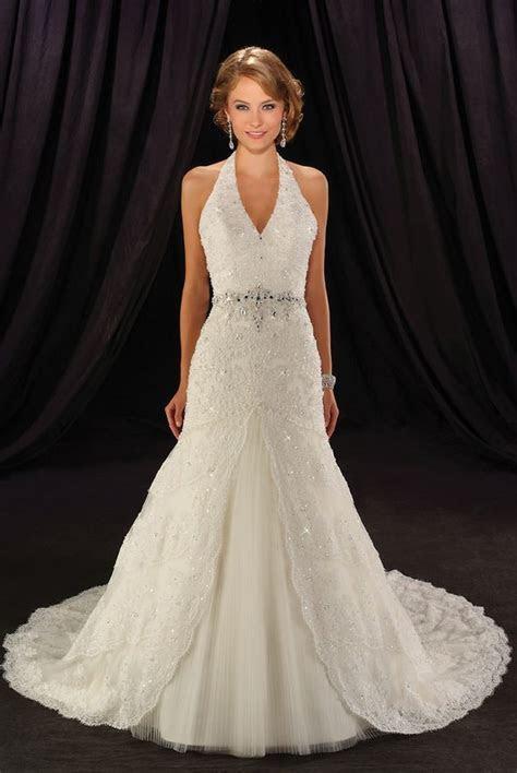 Halter Top Wedding Dresses   Wardrobe Mag