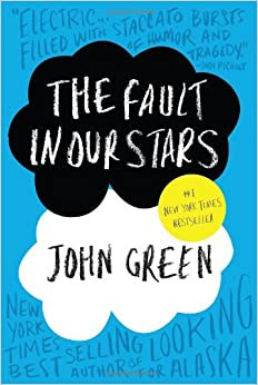 john green the fault in our stars cover