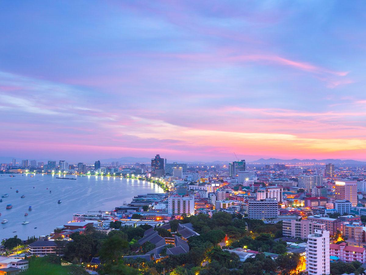 19. Pattaya, Thailand: 6.4 million international visitors