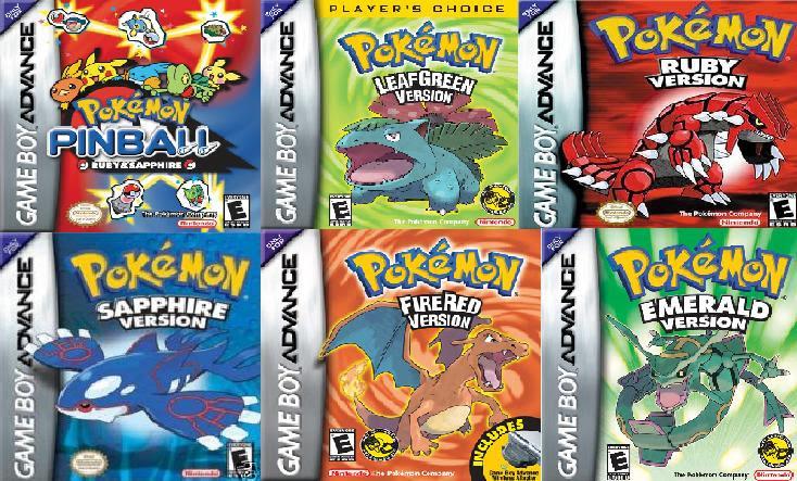 Pokemon best gba roms  Software  Games