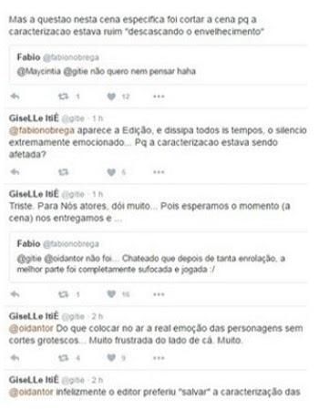 """Giselle Itié fez várias críticas à edição de """"Os Dez Mandamentos — Segunda Temporada"""""""