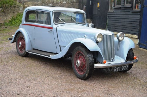 Armstrong Siddeley 17hp Sports Foursome