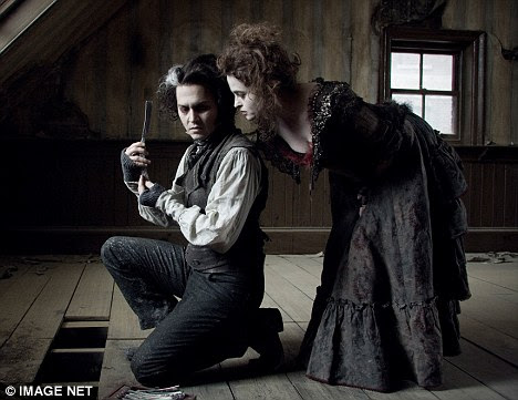 Sweeney Todd - starring Johnny Depp and Helena Bonham Carter