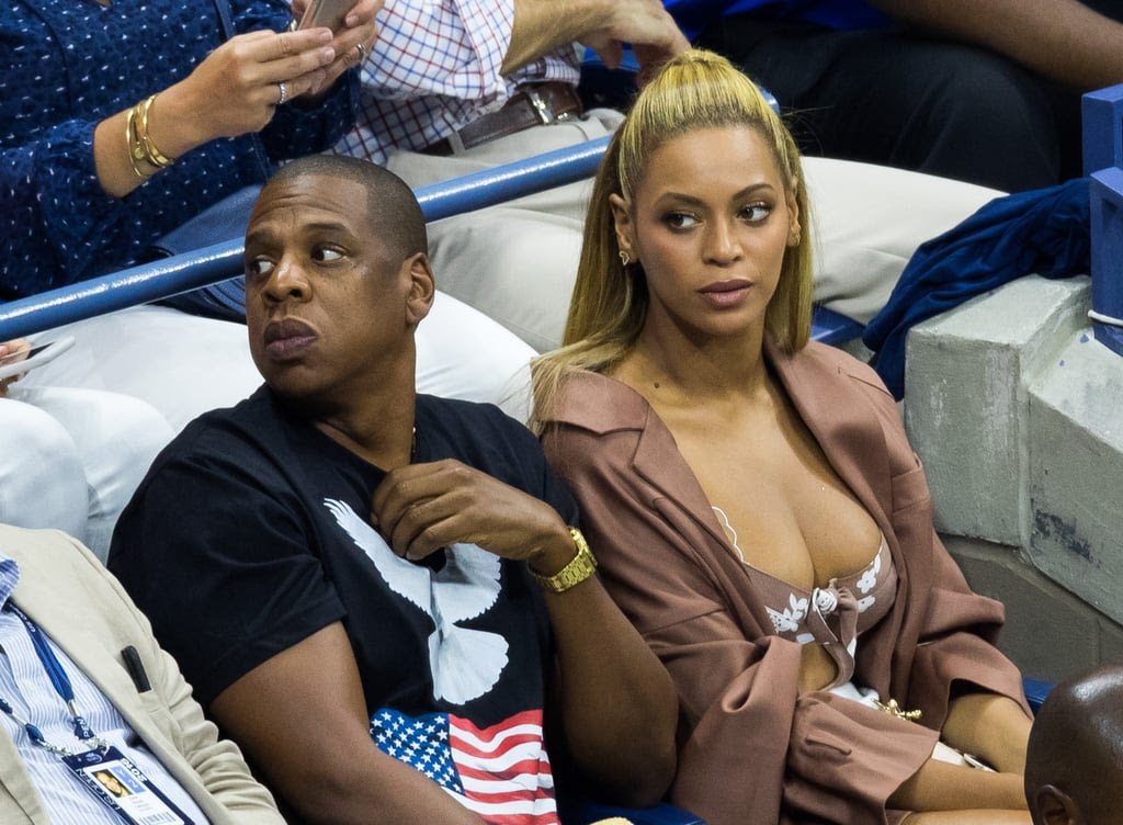 Image result for Beyoncé and Jay Z Enjoy Date Night at U.S. Open