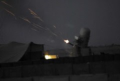 Test Fire of the Phalanx Weapon System