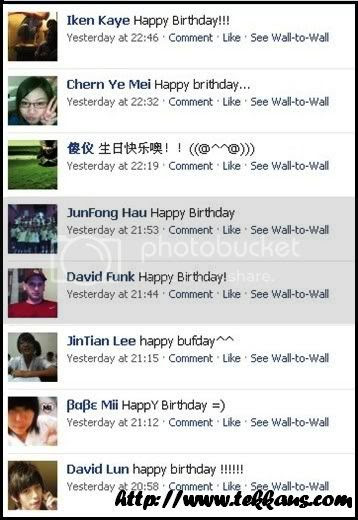 Facebook,Tekkaus,Birthday Wishes