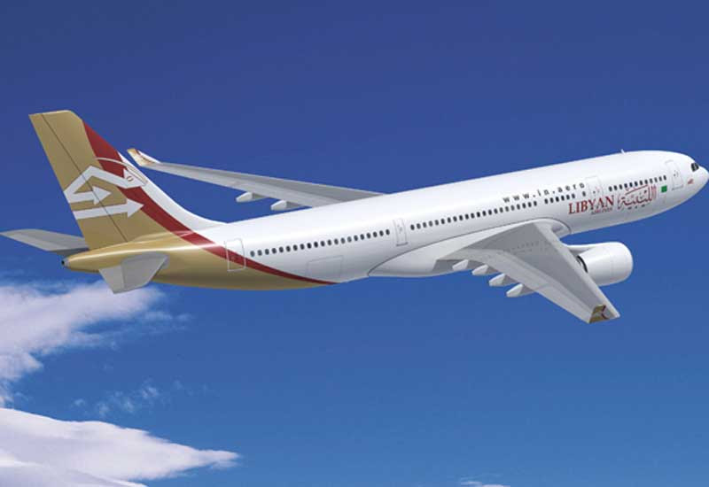 Libyan Airlines' A330-200