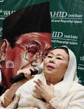 Kunjungi Cikeas, Istri Gus Dur Dukung SBY Hingga 2014