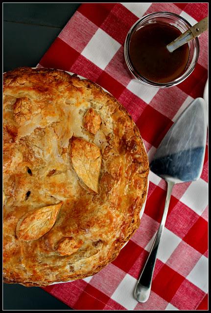 Salted Caramel Apple Pie portrait