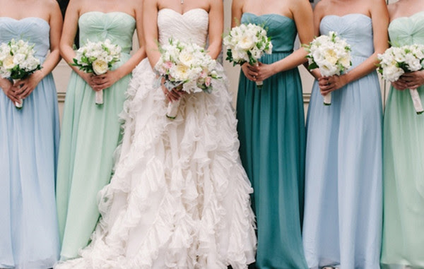Simple Style Sweetheart Multiple-color Bridesmaids Dresses