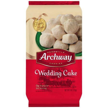 027500095381 UPC   Archway Wedding Cake Cookies, Holiday