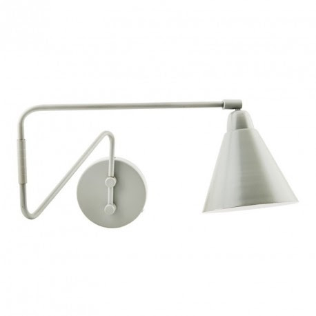 House Doctor Game Wall Lamp Light Grey