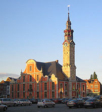 Town Hall, Sint-Truiden (Belgium).