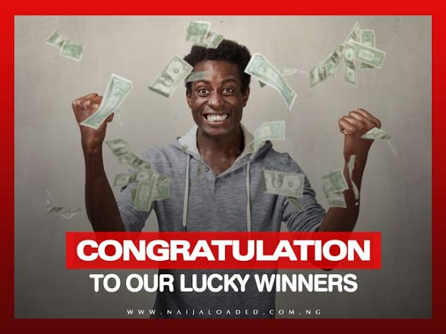 WINNER!!! See The Lucky Winner Of Our ₦5,000 Daily Giveaway (Tuesday 17th Of September)