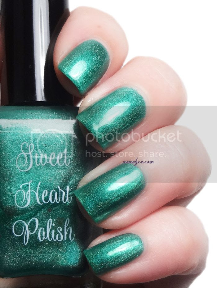 xoxoJen's swatch of Sweet Heart Polish Hellebore
