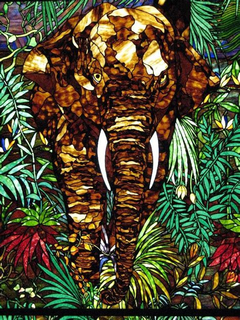 images  colored glass animals  pinterest