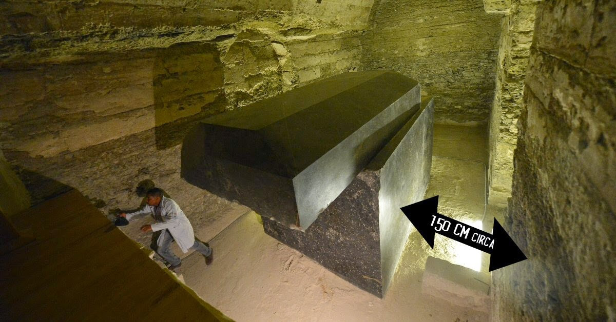 Resultado de imagen de 24 sarcofagos saqqara