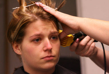 Great Concept 18+ Woman Getting Haircut At Barbershop Stories