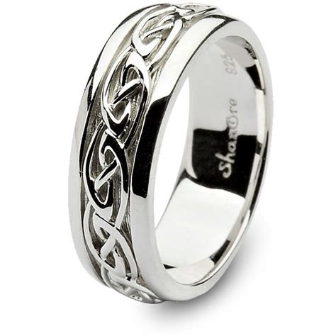 mens celtic wedding rings shm sd
