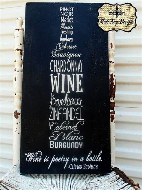 Best 25  Wine signs ideas on Pinterest   Christmas wine