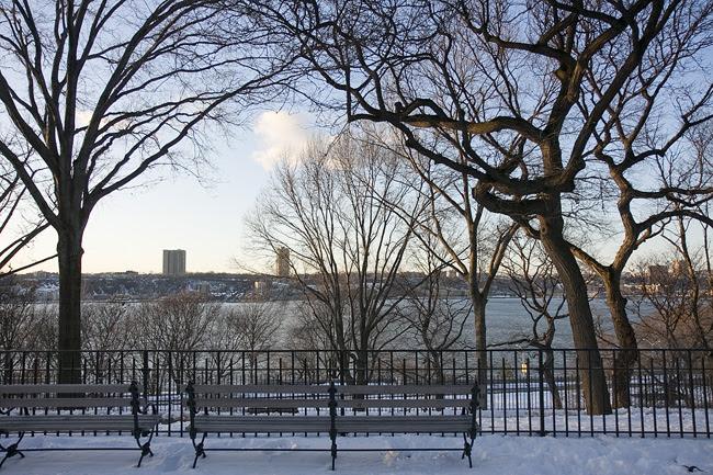 Across the Hudson, toward Jersey