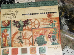 Alarm Clock Steampunk Collage 004