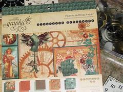 Alarm Clock Steampunk Collage 004