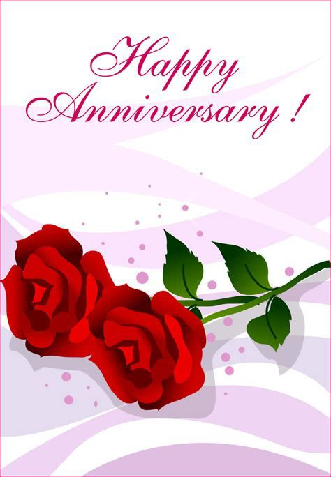 Happy Anniversary Roses   Happy Anniversary Card (Free