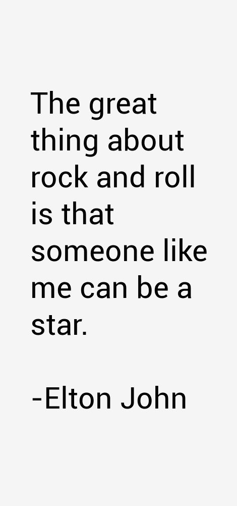 Image result for elton john quotes